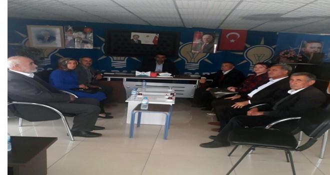 Photo of Gerger'li Milletvekili Adayı Öztürk Teşkilatları Ziyaret Etti
