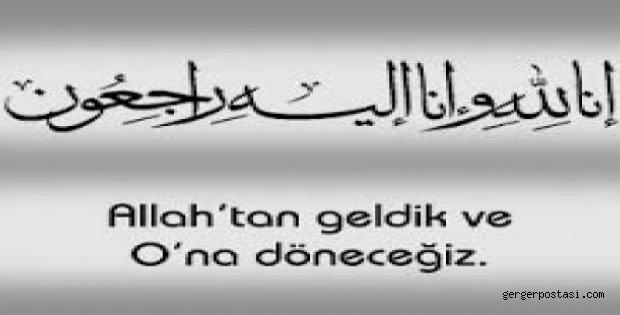 Photo of Gergerli Bir Çınar Daha VEFAT ETTİ.