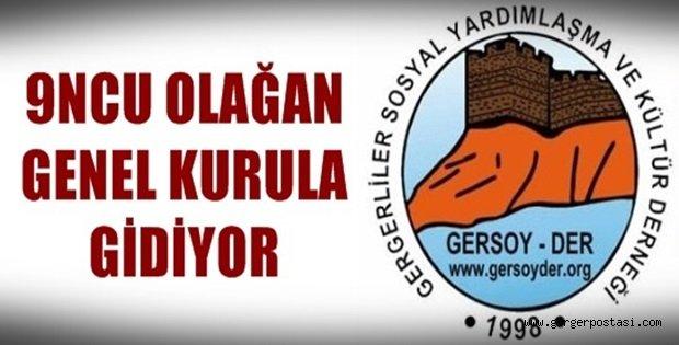 Photo of Gersoy-Der 9 ncu Olağan Kongresi Bu Pazar