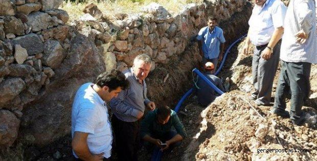 Photo of Güngörmüş Köyü Muhtarı Hizmet Başında