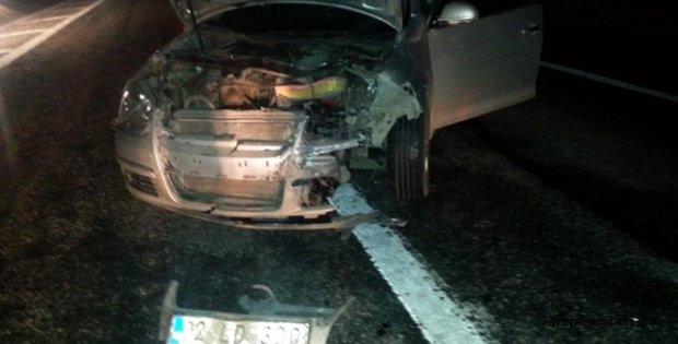 Photo of İki Otomobil Domuz Sürüsüne Çarptı: 2 Yaralı