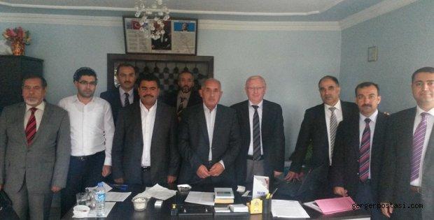 Photo of İlçe Müftüleri Sincik'de toplandı