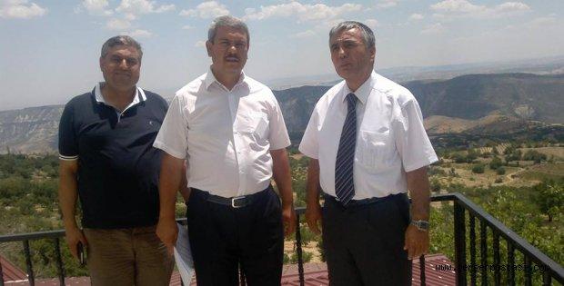 Photo of İş Adamı  M.Uslu Tut İlçesinde Ağırlandı