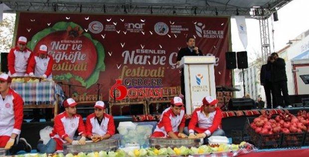 Photo of İstanbul Esenler Nar ve Çiğköfte  Festivali
