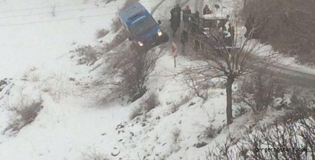 Photo of Jandarma Devriye Aracı Yoldan Çıktı