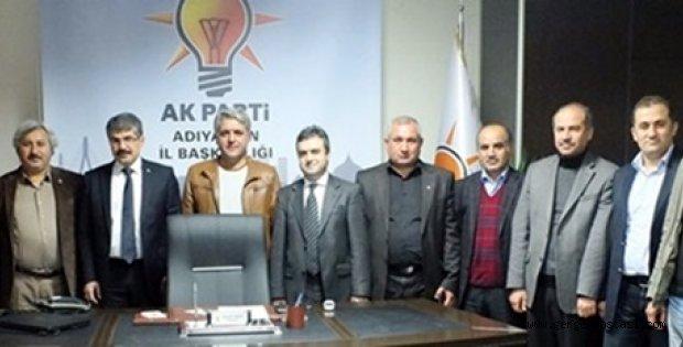 Photo of Kahta Gazeteciler Cemiyeti AK Parti İl Başkanı Seyfettin BİLEN'i Ziyaret Etti