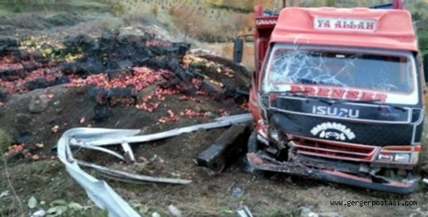 Photo of Kamyon Kaza Yaptı:2 yaralı