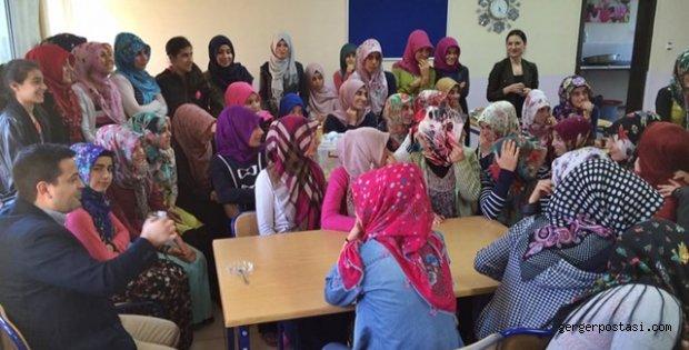 Photo of Kaymakam Hamitoğlu'ndan Gerger ÇPAL Kız Pansiyonuna Ziyaret