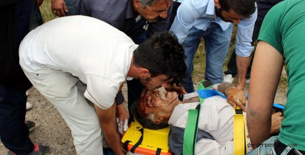 Photo of Narince Kahta Yolunda Trafik Kazası
