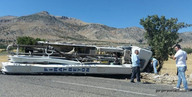 Photo of Narince'de Beton Pompası Kazası