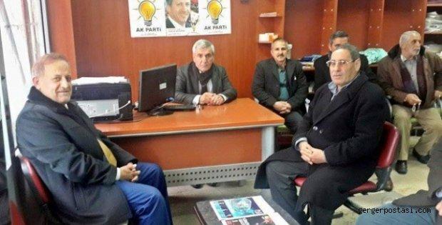 Photo of Özet AK Parti Gerger İlçe Teşkilatını Ziyaret Etti