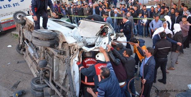 Photo of Siverek'te Trafik Kazası