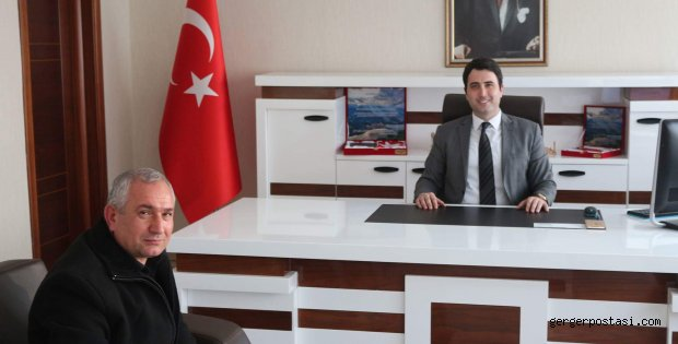 Photo of Turizmci Bilal Mente'den Yeni Gerger Kaymakamına Ziyaret