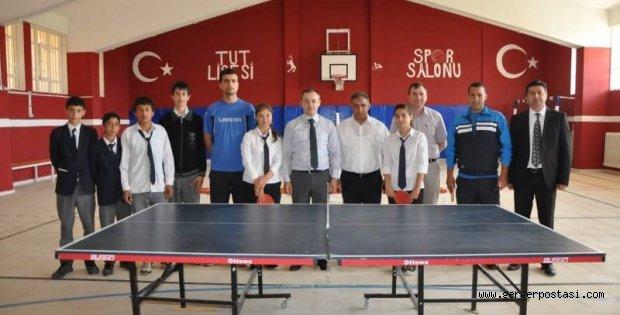 Photo of Tut Lisesi Masa Tenisi Turnuvası Yaptı