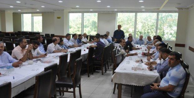 Photo of Vakıfta Bayramlaşma Töreni Yapıldı